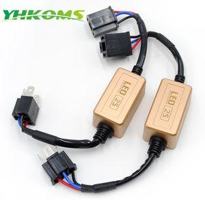 Uttril H4 H7 LED Canbus Decoder H1 H3 9005 H 9006 H8 H11 Erro Free For LED Car Headlight Aviso Canceller sem cintilação