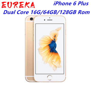 "Original remodelado iPhone 6 Plus telemóvel 5,5"" Dual Core 16G / 64GB / 128GB Rom IOS iphone 6plus vídeo 8MP câmera 4K"