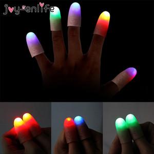 1pair 엄지 손가락 성인 마술 빛 할로윈 장난감 어린 아이들이 재미 선물 야간 조명 엄지 손가락을 플레이