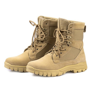 New Hot Winter Autumn Men Military Boots Quality Special Force Tactical Desert Combat Ankle Boots Army Work Shoes Leather Snow Boots OD0001