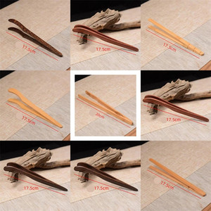 Bamboo Tea Clips Classic Teas Tweezer Wooden Radian Food Coffe Tongs Infuser Coffe Tools Straight Type 1 9hh C2