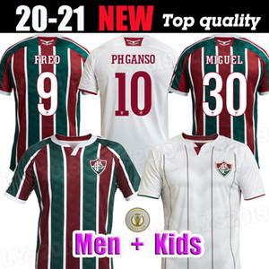 FLUMINENSE 2020 21 Jerseys de fútbol Ganso Flufão Fred Phganso Hudson Nino Nino Henrique Futbol Camisas Camisetas de fútbol Camisetas