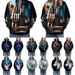 lbHTs QSny7 2020 Seiko usure 3D usure numérique costume de baseball costume costume couple couple équipez baseball à capuche impression automne pour hommes et femmes