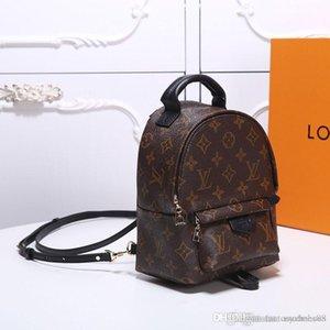 TOP hommes de luxe de qualité sac célèbre sacs à main Mini sac d'école des femmes sac à dos en cuir Sac à dos sacs à dos avec boîte