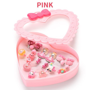 12pcs Fancy Dress Cartoon Rings Party Favors Princess Pretend Play Toys Jewelry Ring Children Kids Girls Makeup Gifts