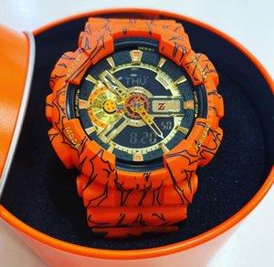 TOP Vente G Sport Militaire Montre de mode Co-Montres de marque Shock GA en gros Orgelet 110 Limited Edition Iron Man numérique Montres avec la boîte
