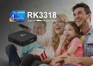 Tanix TX8 Smart TV mi Box Android 9.0 Rockchip RK3318 Quad-core 4GB 32GB 64GB Wifi HDR 4K media player Set Top Box
