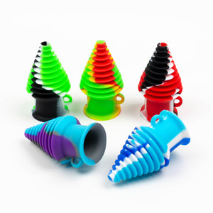 Novo estilo colorido dicas hookah filtro Mouthpeace silicone para galss taça bong água tubulação de tabaco acessórios fumadores