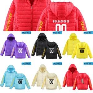 X400u 새로운 beabadoobee 가수 2D는 트렌디 한 남성과 여성의 다운 재킷 겨울 다운 재킷 후드 인쇄