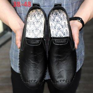 Amazon genuini Peas scarpe di cuoio Uomo Mocassini Uomo Large Size Shoes Mens casuali pattini di cuoio Cross-Border Trad Esteri