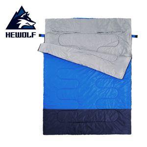 Hewolf iki ayrı tek torbaya torba Hotel'in septum yolculuk kullanım kutu yapıştırma uyku yetişkin zarf kamp açık havada