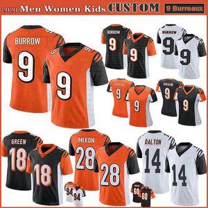 9 جو الجحر Burreaux سينسيناتيعرف الرجال النساء الأطفال بنغلسكرة القدم بالقميص 85 المحملة هيغنز 18 A.J. أخضر 28 ميكسون 60 مايكل