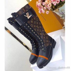 Martin bottes dames de luxe flamant amour flèche desert boots en cuir médaille boucle en métal d'hiver chaussures pour femmes de luxe 41 42