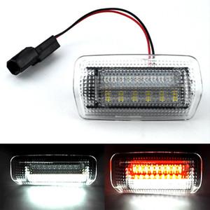 1 Cortesía Par LED luz de puerta del bulbo para Toyota Land Cruiser Serie 200 Serie 150 Prado MK4 J150 2007 para Lexus ES240 IS250