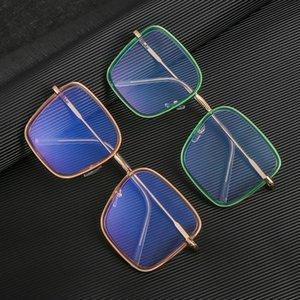 NEW Large Square Frame Anti Blue Ray Glasses Blue Light Filter Block UV Protect Computer Gaming Glasses Anti Glare Eyeglasses