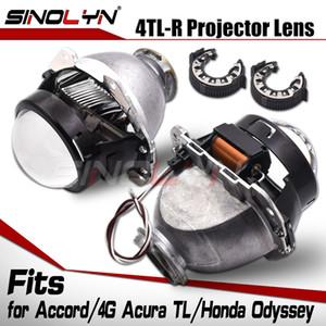 Sinolyn Projektör Lens İçin Honda Accord 4TL R / 4G Acura TL / Far Lensler 2.5 Araç Işıklar Aksesuarlar DIY ksenon Toyota Sienna Bi