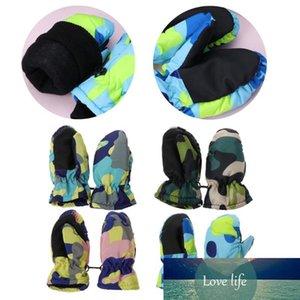 Baby Winter Waterproof Warm Mittens Boy Girl Kids Children Outdoor Child Gloves D33