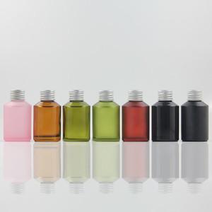 60мл Стеклянная Empty Bottle Упаковка Косметика с алюминиевой Screw Cap