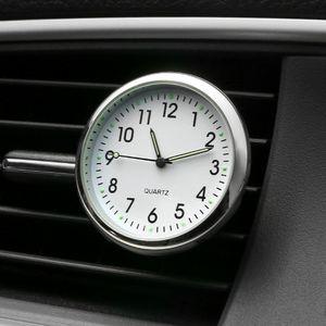 Car Ornament Automobiles Interior Decoration Clock Auto Watch Automotive Vents Clip Air Freshener Clock In Car Accessories Gifts