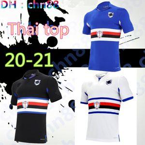 2020 Sampdoria Soccer Jersey Home Sesy Terceiro 20 21 Murillo Linetty Jankto Yoshida Maroni Gabbiadini Tailândia Camisas de futebol Tailândia