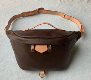 2020 En Yeni Stlye Ünlü bumbag Çapraz Vücut moda Omuz Çantası kahverengi Bel Çantaları Bum Unisex Bel Çantaları M43644