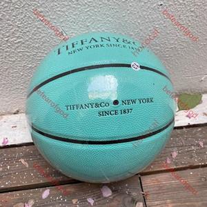 2020 нового высококачественный европейский Кубок размера баскетбола 54.5cm Spalding совместного баскетбол глобального ограниченный тираж синий шар вверх