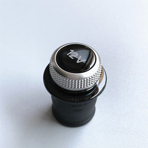 Cigarette Lighter Cover Chrome Plated Cigarette Lighter Plug For Audi A3 A4 A5 Q2 Q7 R8 8W0 919 311 12V