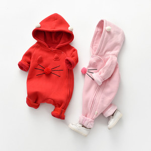 Clearance Autumn Fashion baby girls boys clothes Cotton Bottle printing long sleeve one piece baby rompers Infant clothing set