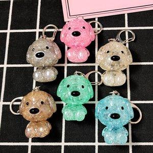 PROMOTION Cadeau Creative Plastic Plastic Porte-clés Chien Sac à main Sacs À Sac à dos Pendentif Mini Mini Dessin animé 3D Bear Elephant Bear KeyRings DH0936 T03