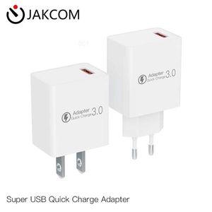 JAKCOM QC3 Súper USB Adaptador de carga rápida de nuevos productos de cargadores de teléfonos celulares como cargador USB pulsera megafon envoltura magnética