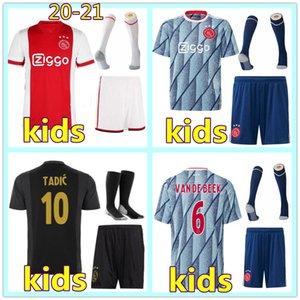 20 21 Enfants Maillot de foot Ajax soccer jersey 2020 2021 maillot de football ajax fc enfant maillot de foot ajax football shirt