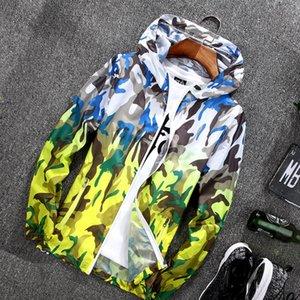2019 Nouvelle peau extérieure et vêtements d'équitation manteau de cuir vêtements d'équitation alpinisme Sunscreen hommes vêtements crème solaire femmes manteau en cuir
