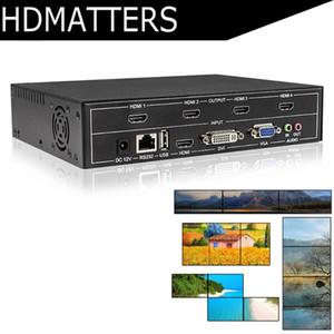Comando a parete Professional Video HDMI 2X2 1X3 1X2 USB HDMI DVI VGA controller video splitter con il controllo RS232