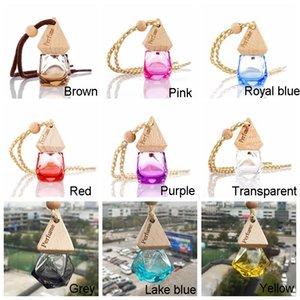 Custom car perfume bottle Pendant, essential oil diffuser, clothing accessories, air freshener pendant, empty glass bottle perfume BH1908 ZX