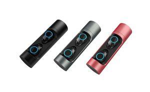 800mAh cgjxs X8 Tws Touch Control Carga de la caja de batería Bluetooth 5 .0 IPx6 hilos impermeable 12pcs Siri / Lote