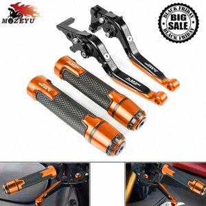 Para 990SMR 990 SMR 2009 a 2013 2012 2011 2010 motocicleta de aluminio CNC freno maneta del embrague y la barra de empuñaduras handbar 990 SMR FFTD #