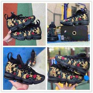 Haute Qualité 15 Performance Kith Ashes Fantôme Hommes Chaussures de basket Arrivée Sneakers Taille Sneakers sport 15s 7-12