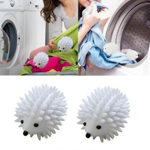 Dryer Balls Reusable Clean Tools Washing Drying Fabric Softener Ball Dry Laundry Products Hedgehog Dry Wash Ball