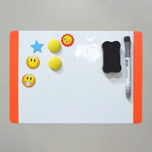 Magnetic Board A4 Soft Magnetic WhiteBoard Drawing Recording Board for Fridge Refrigerator r20 zEQi#