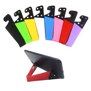 V-Shaped Universal Foldable Mobile Cell Phone Stand Holder for Smartphone & Tablet Adjustable Support Phone Holder for iPhone12