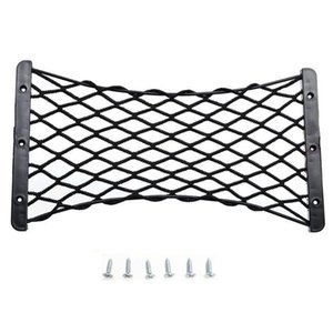 For Fire Extinguisher Organizer Universal Protection Cargo Car Storage Mesh Rear Trunk Elastic Net Luggage Interior Fixed Side