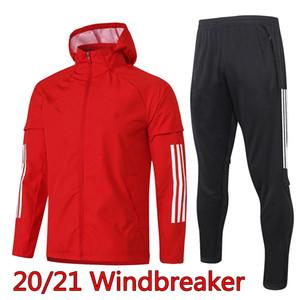2020-2021 Аякса мужские ветровка BLING 20 21 с длинным рукавом балахон куртка спортивный костюм футбол Тадич тренировка рубашка Huntelaar футбол пальто пыли