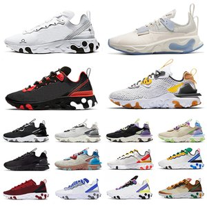 nike react vision type N354 Gore-Tex element 55 87 Shoes Laufschuhe Triple Schwarz Weiß Anthrazit Orange Royal Tint Solar Rot Damen Herren Trainer Sports Sneakers 36-45