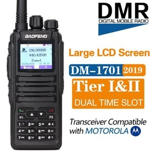 Baofeng DM-1701 Walkie Talkie Dual Band Dual Time Slot DMR Digital Tier1& 2 3000 Channels 10000 Contacts Radio with SMS Function