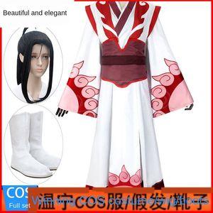 Meiya Wenning gençlik sihirli Yol Little Angel Qishan Wenshi antik Sihirli giyim Deri çizmeler giyim kılık animasyon Cosplay sahte f cos