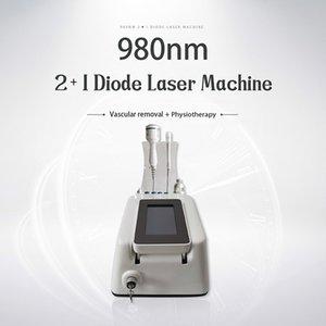 Nueva 980nm Treat Telangiectasia Vasos sanguíneos de uñas Enfermedades de la máquina láser Hongo con la manija de Hielo En venta