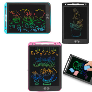 Local Erasing LCD Writing Tablet Color font Children's intelligent Electronic Drawing board LCD handwriting tablet 8.5 inch 10 inch 12 inch