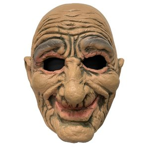 Mengpo Halloween Bloody Scary Horror Mask Adult Zombie Mask Latex Costume Party Full Head Cosplay Masquerade Props