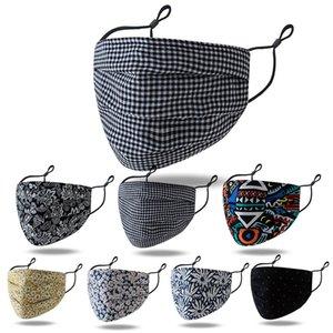 Nuevas mascarillas diseñador de la cara máscara de moda diestro empalme de exportación en tres dimensiones lavable mascarilla ajustable caliente de la venta