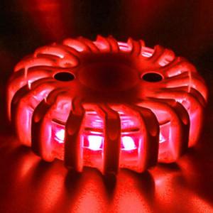 2 adet LED Gösterge Aydınlatma dropshipping Uyarı Trafik Güvenliği Powered Işık Çok fonksiyonlu LED Gösterge ışıkları Uyarı